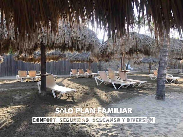 Villa con Acceso a la Playa en Hotel Mayan Palace