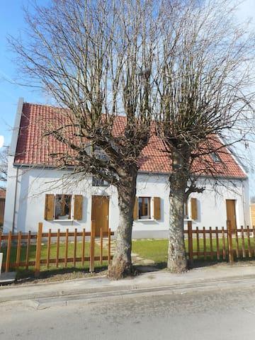 Belle maison, trés lumineuse de la côte d'Opale - Pernes-lès-Boulogne - Casa
