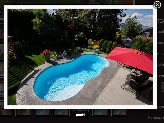 Private pool oasis in wine country! - Kelowna - Hus
