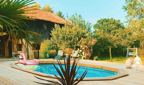 Les Palmes d'Or - Chic home with Luxury Pool