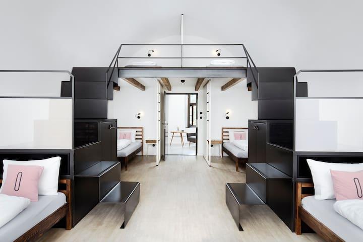 6 Bed Female Dorm - Long Story Short Hostel & Café