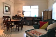 Studio in artist home close to downtown and beach