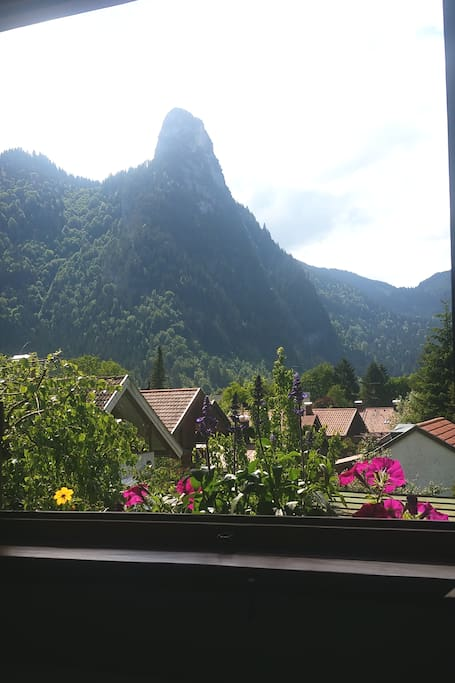 View of the Kofel from lounge