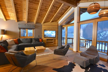 Chalet Schmitten -  superior Chalet with whirlpool - 50m to skilift and ski out
