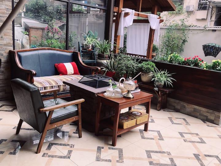 【暖巷】院子里烧烤聚餐/网红拍照地/中央空调