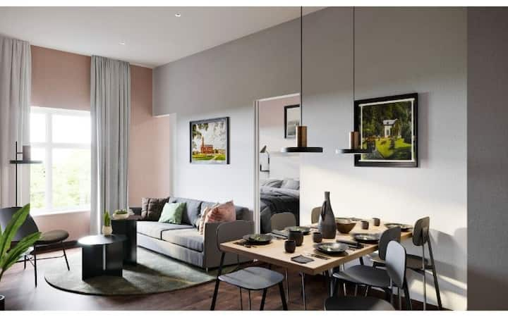 Two-Bedroom Apt for 6pax at Yays Koninginnegracht