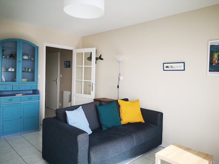 Appartement au port de Lesconil à 350m de la plage