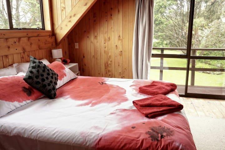 Hokitika Log House - Arahura Valley - Ev