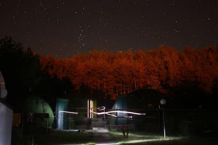 "Astrocamp ""dormire sotto le stelle"""