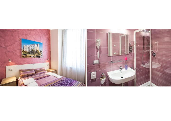 Double or Twin room - with private bathroom