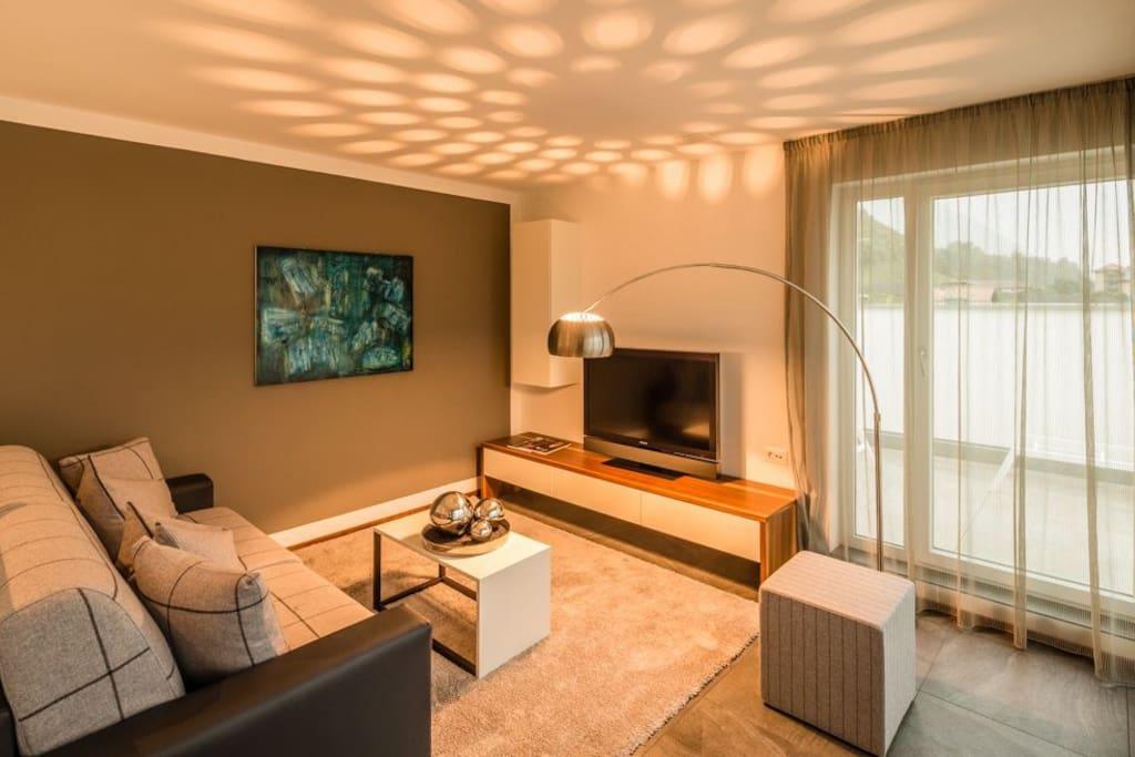 Wohnraum Hidalgo Suites