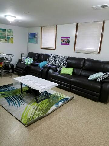 Private whole floor-living/bed/bath - Evanston - House