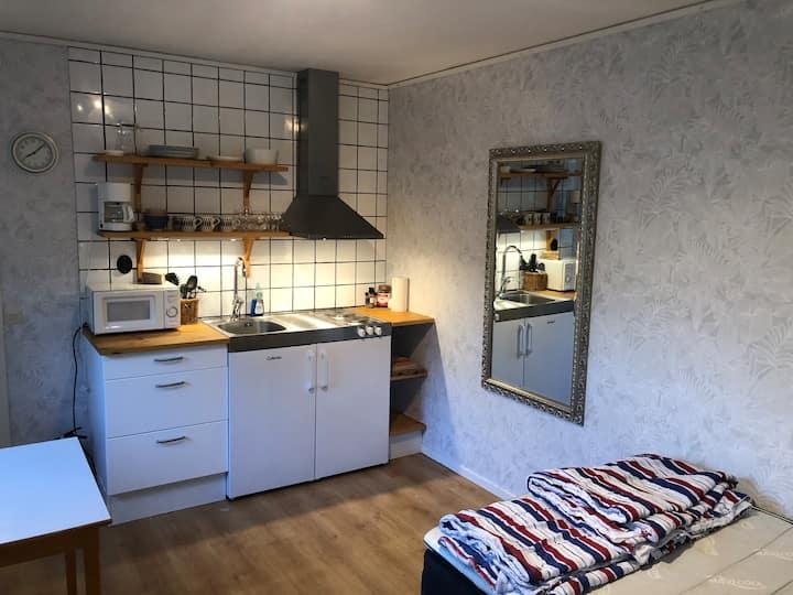 Mysigt gårdshus i södra Visby