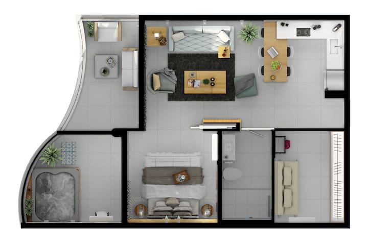Apartments scheme