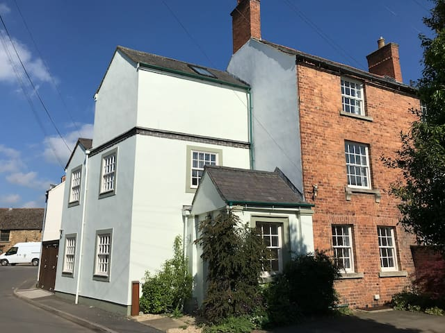Listed house a minute from Oakham town centre