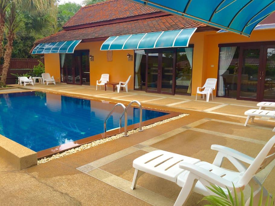 4 Bedroom Villa Phuket + Private pool