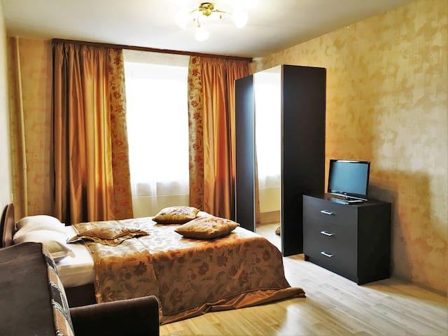 1к. квартира на берегу Пахры - Apartamento