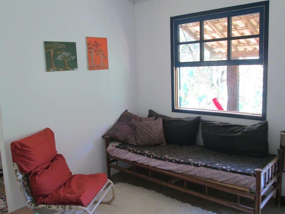 sofá cama de solteiro