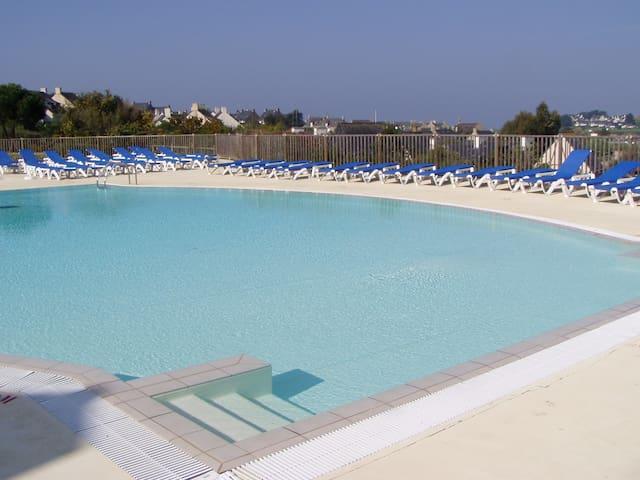 Arzon - T2 idéalement situé à 250m de la plage - Arzon - Appartamento