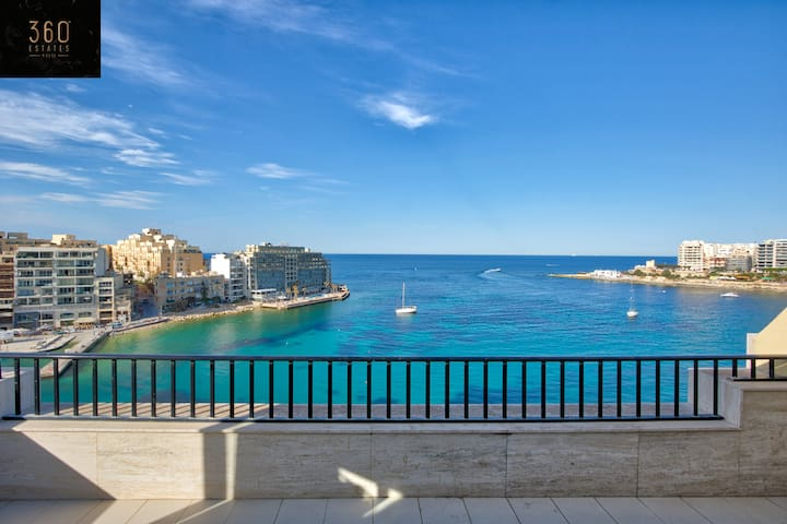 A stunning 2B penthouse in Spinola Bay