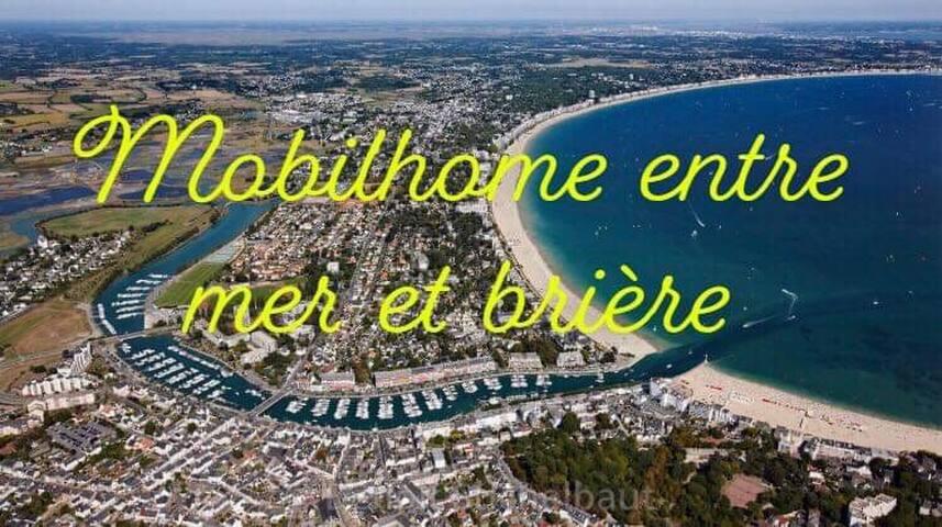 Mobilhome entre Mer et Brière