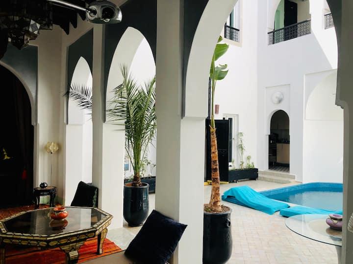 Dar Maureen Marrakech Riad complet avec piscine