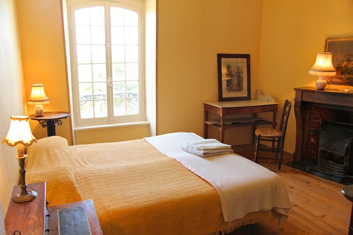 Chambre Jaune/Yellow Room in 18th Century Home - Barneville-Carteret
