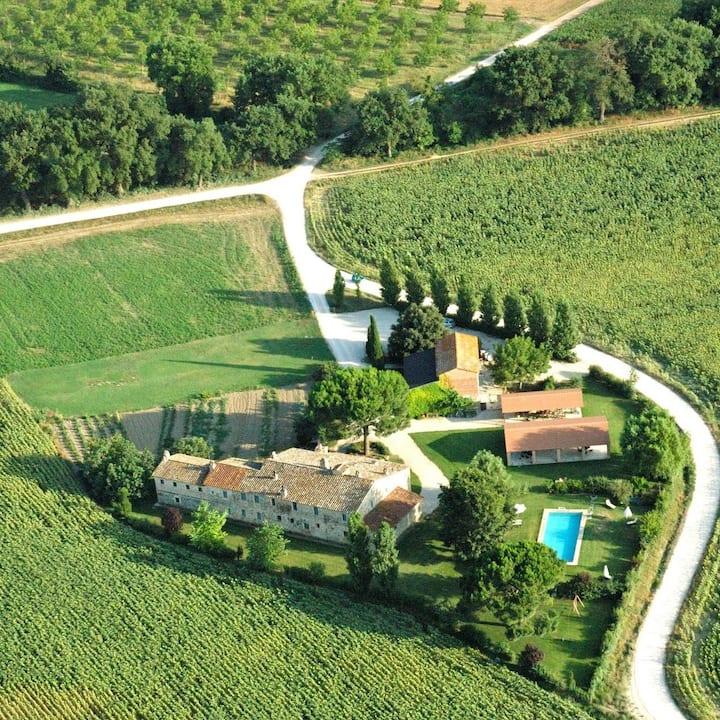 Beautiful XVII sec. villa  for 17 people +2