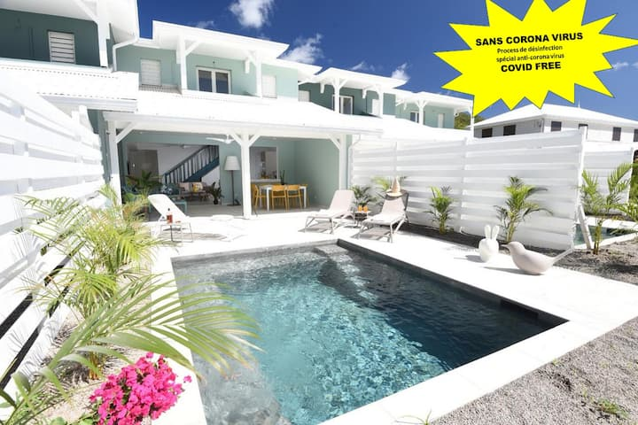 Villa de standing - ACCES DIRECT A LA PLAGE - Sun Rock/cocotiers