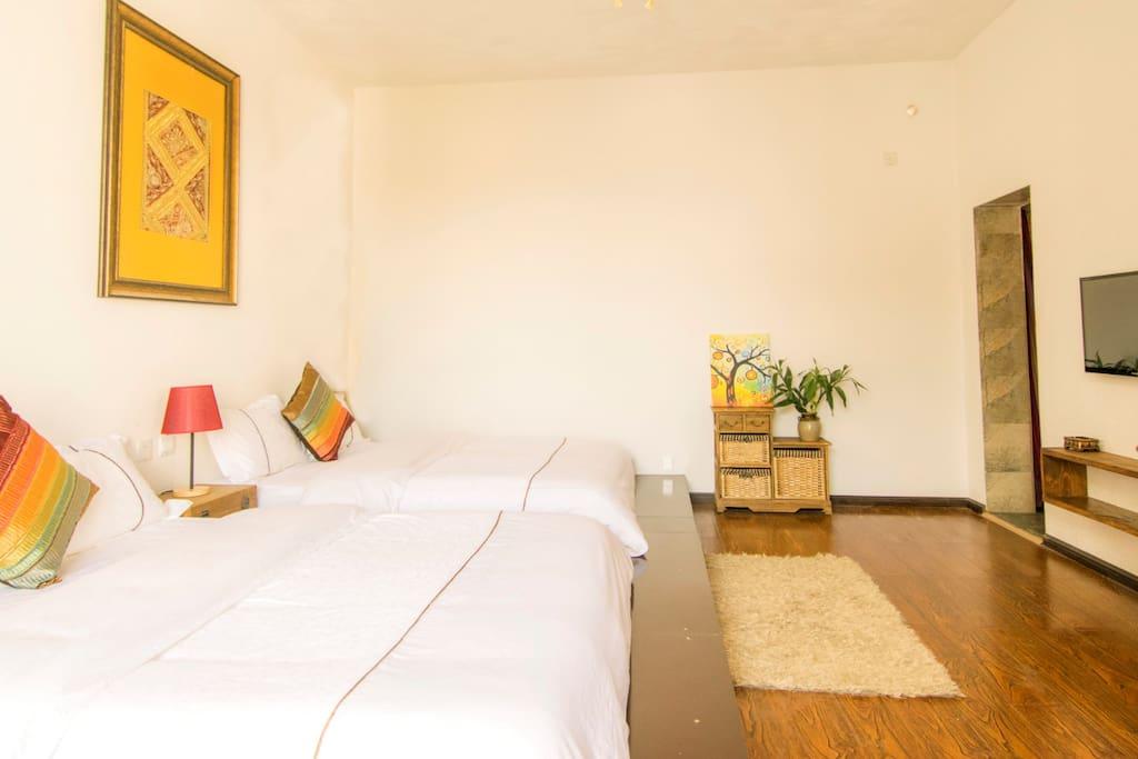 65平双床套房