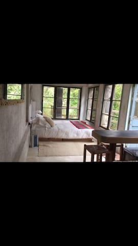 Cachagua, dormitorio tipo loft baño - Viña del Mar