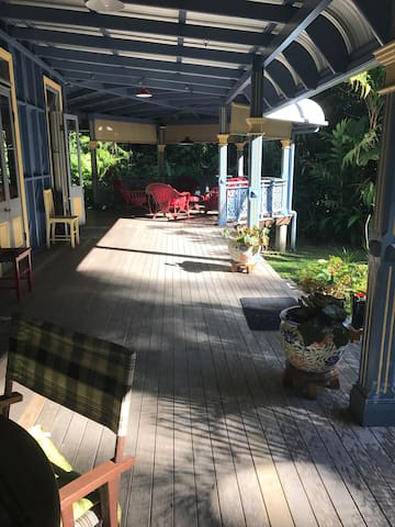 Heritage House Queenslander  in the rainforest