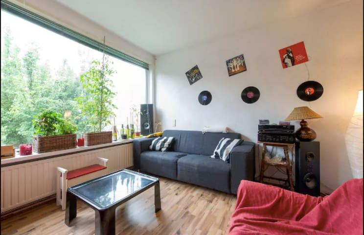 cozy room with own balcony close to everything - Groningen - Apartamento