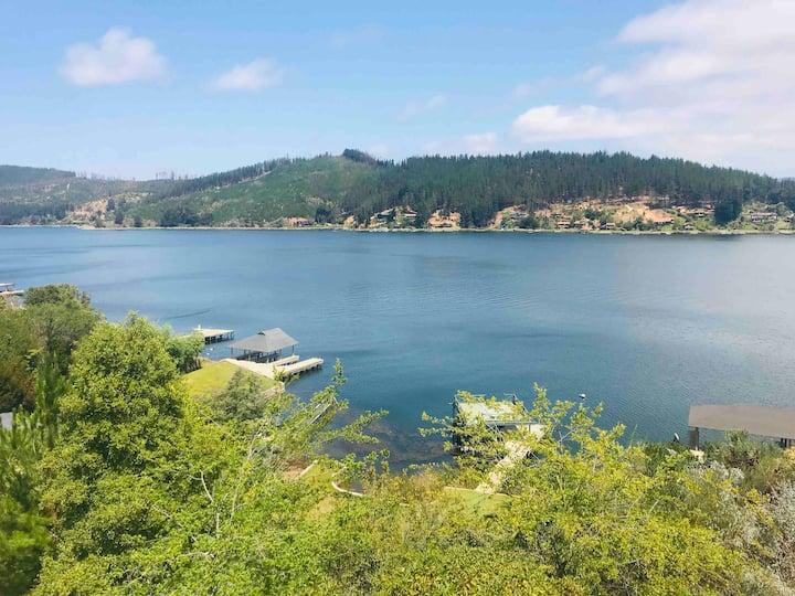 Lago Vichuquen  Sector Jardines de la península
