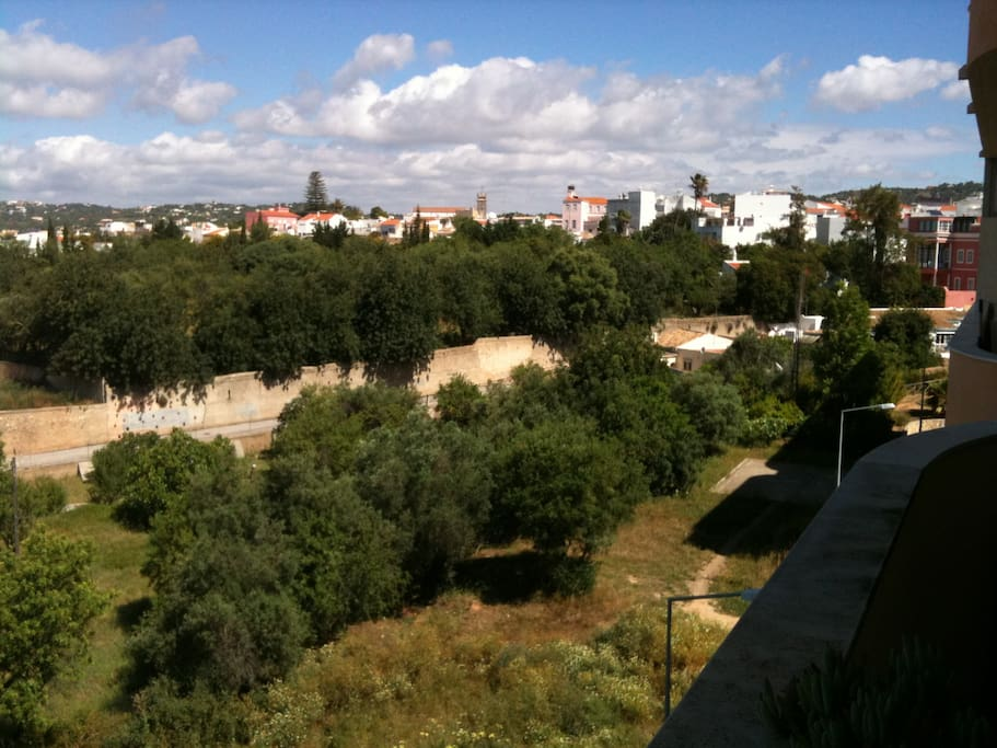 VIEWS TO LOULE OLD TOWN & HILLS BEYOND