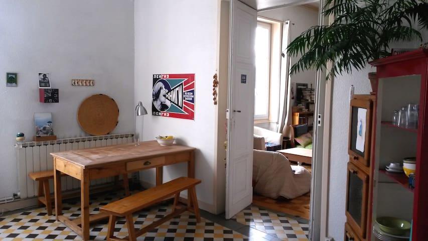grand appartement calme et lumineux