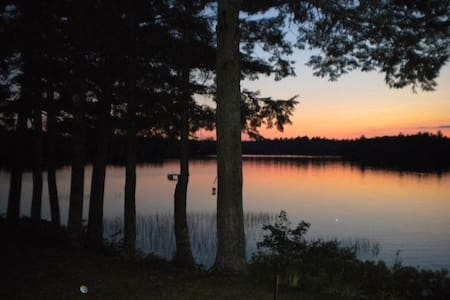 Beautiful Downeast Maine Lake House - Nobleboro - Ev