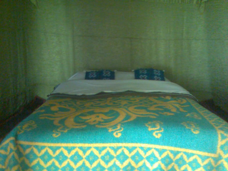 With double bed