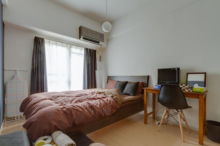 Cozy room in Shin-Osaka! Good access to Namba! 106 - Higashiyodogawa-ku, Ōsaka-shi - Huoneisto