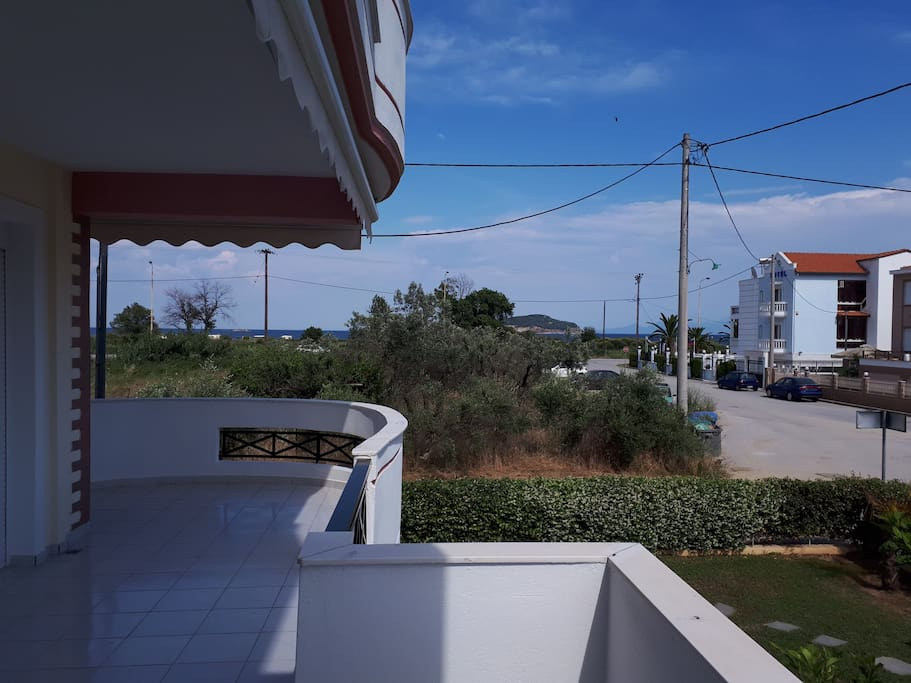 Μπαλκόνι με Θέα στη θάλασσα