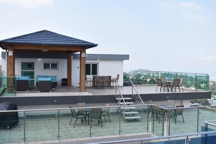 Petion Ville 3 BR Apartment - Modern Building