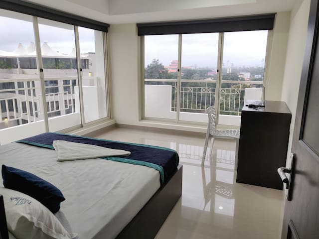 Two Bedroom Premium Apartments with centralised ac