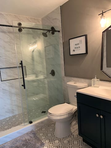 Private, unshared bathroom for master suite