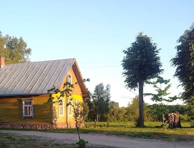 Country Side House with Sauna Next To The Lake - Krāslava