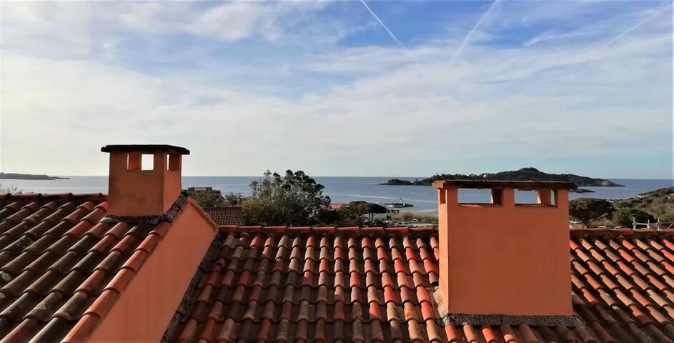 Appartement vue mer Presqu'île de Giens (Hyères)