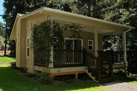 The Forest Haven Suite: Cottage In The CA Redwoods - Trinidad - Zomerhuis/Cottage
