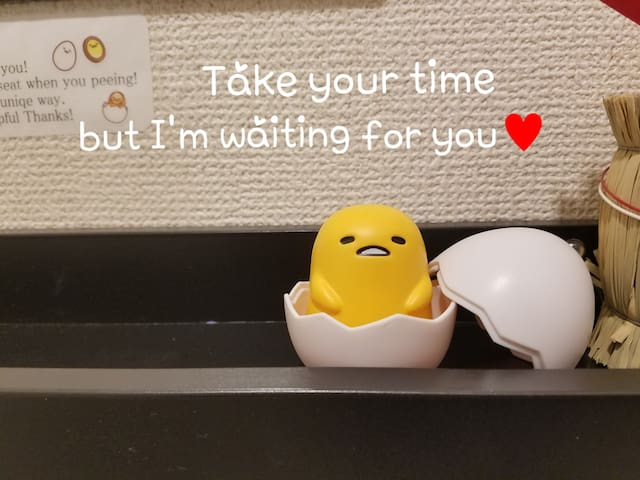 I'm Gudetama,lazy egg...will be famouse in someday...