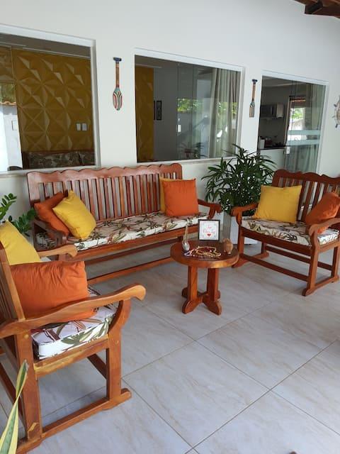 Casa Completa, Cacha Prego - Ilha  Itaparica ,  Ba