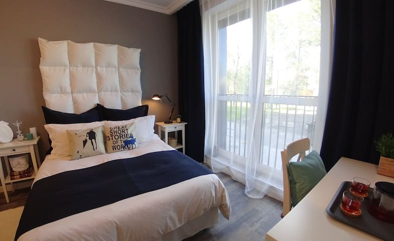Room with bathroom and kitchen in center - Sankt-Peterburg - Bed & Breakfast