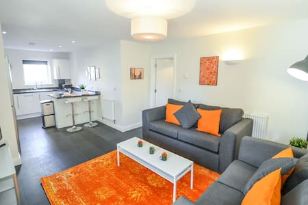 Swan Meadow - Spacious 1 bed apartment with free parking & Wi-Fi